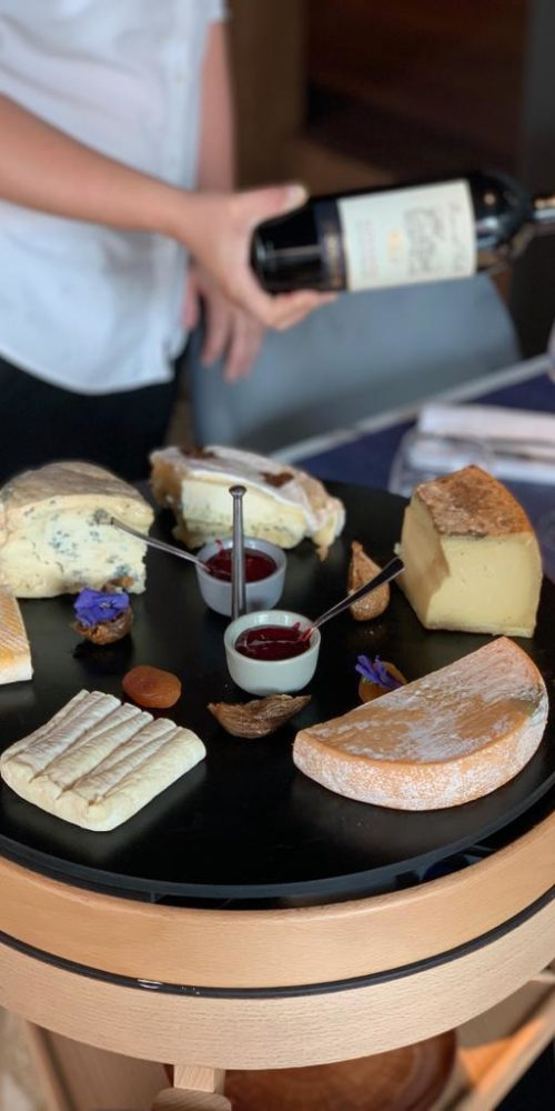 Our cheese trolley